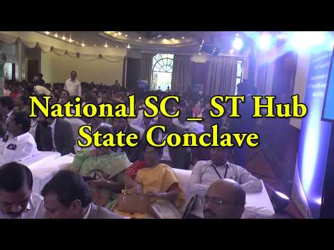 NATIONAL SC-ST HUB STATE CONCLAVE ON ANVESHI TV CHANNEL.