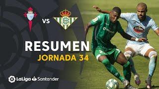 Resumen de RC Celta vs Real Betis (1-1)