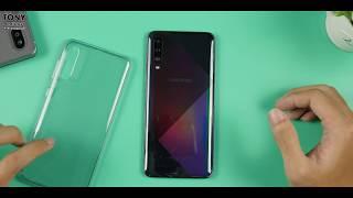 Mở hộp Samsung Galaxy A50s - Mặt lưng siêu đẹp!