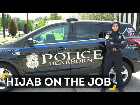 Dearborn's First Hijab-Wearing Officer