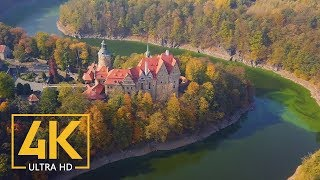 4k polish castles stunning aerial drone footages of best castles of poland