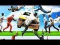 MOST BRUTAL RUNNER SMASH EVER! (GTA 5 Funny Moments)