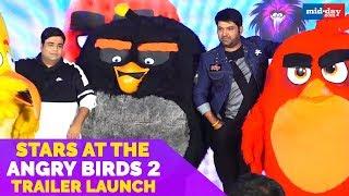 Kapil Sharma, Kiku Sharda and Archana Puran Singh At The Angry Birds 2 Trailer Launch