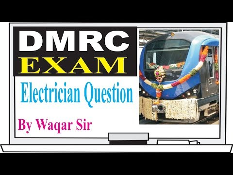 DMRC Electrician Questions