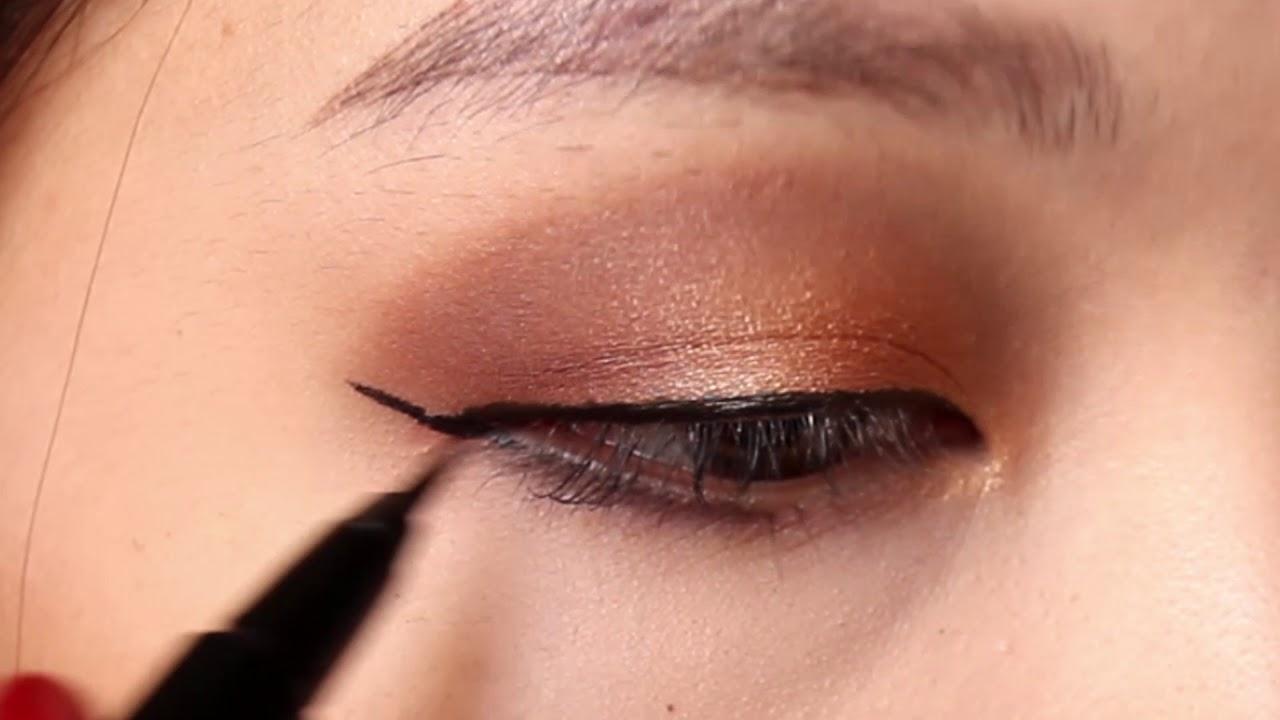 [CHOUCHOU] Kẻ mắt cực đẹp dành cho người mới tập tành makeup