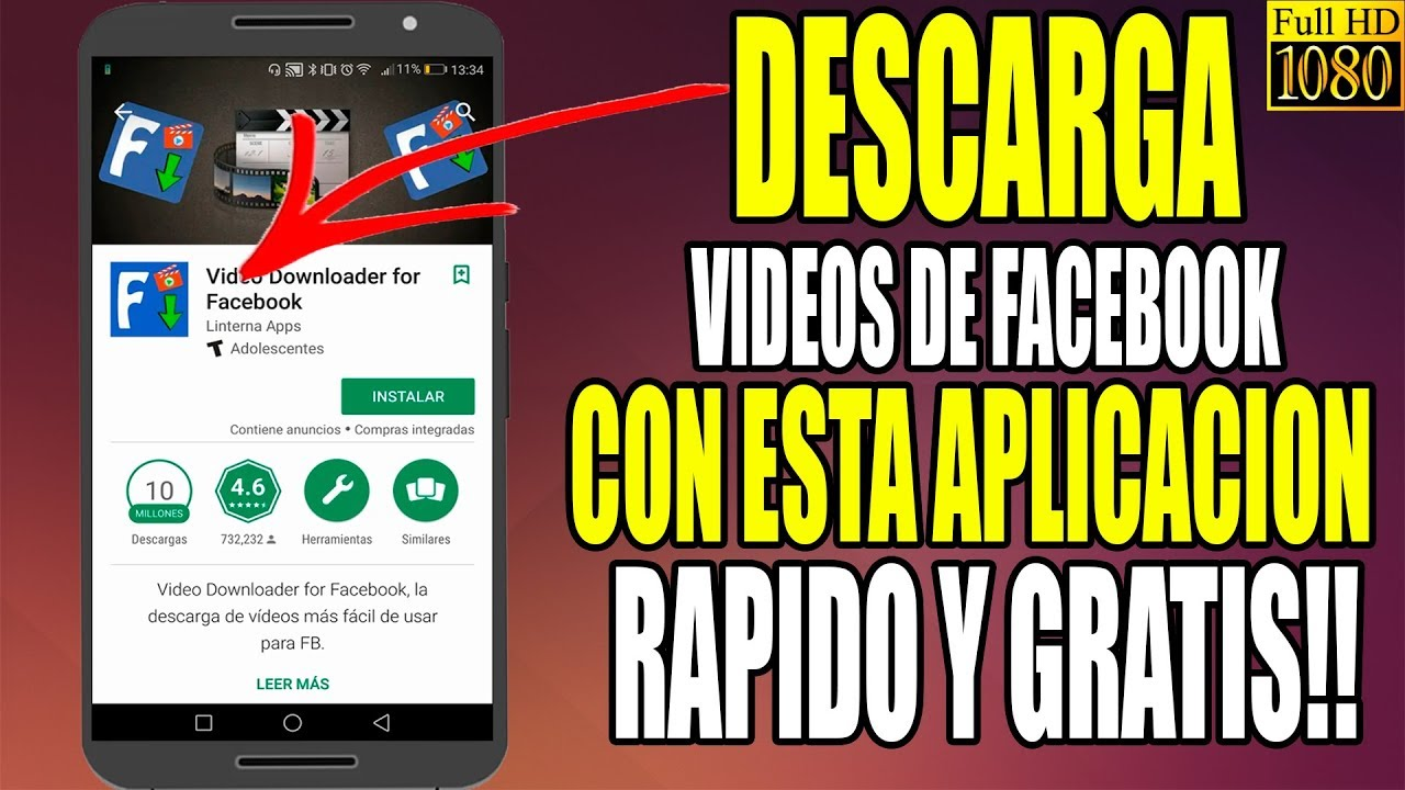 descargar videos de facebook apk