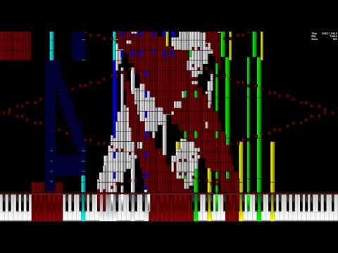 [Black MIDI] Macintosh plus -  Floral Shoppe/リサフランク420 現代のコンピュ380.000 Notes