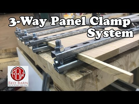 Three-Means Panel Clamp System
