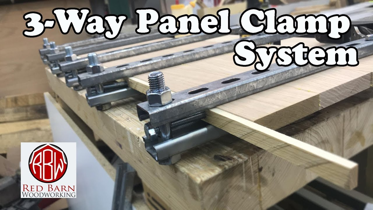 3-way panel clamp system