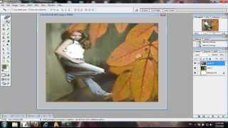 شرح دمج الصور فى برنـامج الفوتوشوب | Adobe Photoshop CS8