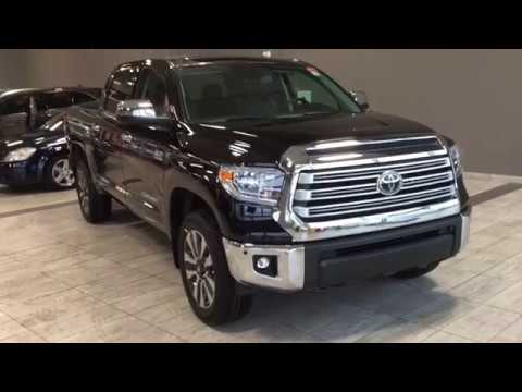 2018 toyota tundra 4x4 crewmax limited youtube. Black Bedroom Furniture Sets. Home Design Ideas