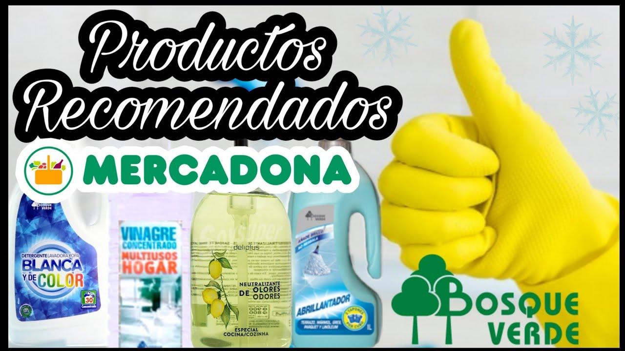 Productos Mercadona Recomendados Para La Limpieza Y El Hogar
