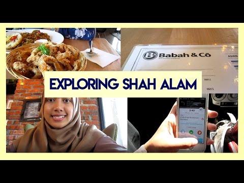 VLOG ; Exploring Shah Alam