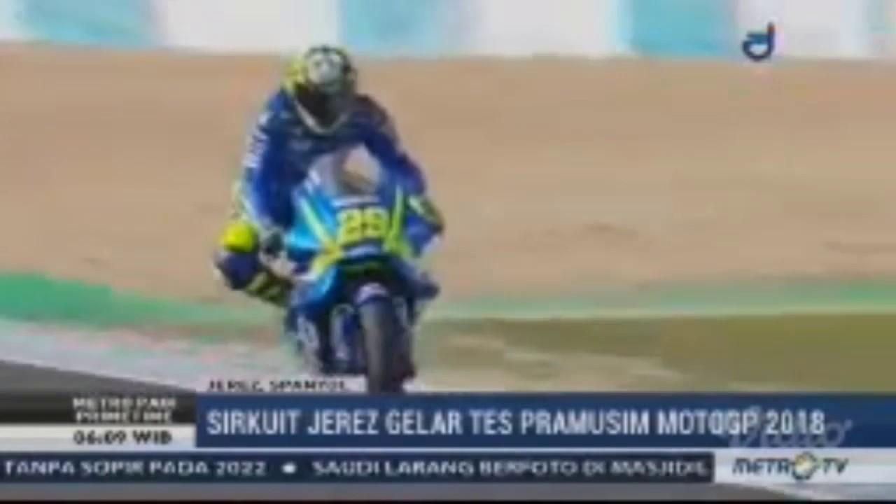 Sirkuit Jerez Gelar Tes Pramusim MotoGP 2018 YouTube