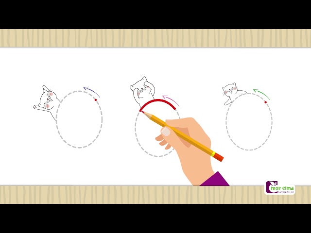 Elips - Elips Nasıl Çizilir -  Okul Öncesi Eğitim