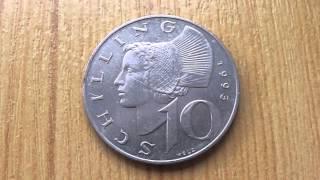 10 Schilling 1993 - Alte Münze aus Österreich