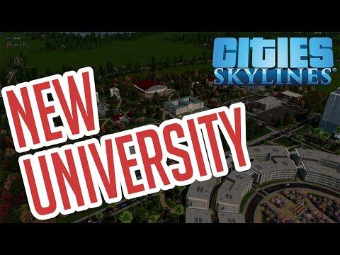 Cities: Skylines Ep#4 University College - Full Stream Sped Up |