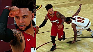 NBA 2K18 MyCAREER - FINALLY SNATCHED SOME ANKLES! FIRST GAME AGAINST LEBRON! HITTING LEANING 3