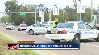Brooksville Police Chief Fired in the midst of negotiations to disband department