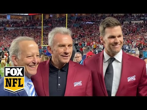 Step On The Field With Tom Brady, Joe Montana And The Rest Of The NFL 100 All-time Team | FOX NFL