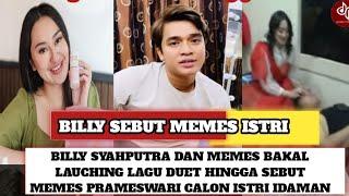 BAKAL MELEDAK‼️Billy Syahputra dan Memes  Prameswari Bakal Lauching Lagu Duet Hingga Bilang Gini