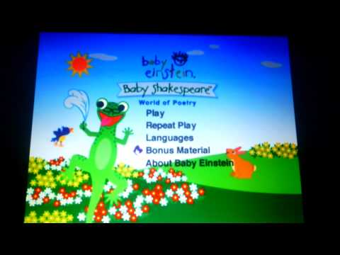 Baby Einstein Numbers Nursery Youtube Music Lyrics