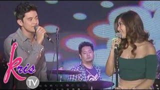 Kris TV: James Reid & Nadine Lustre sing 'Lucky' on Kris TV
