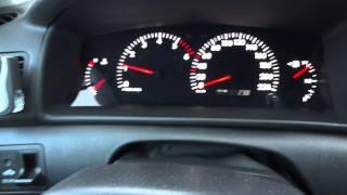 Toyota Corolla 1.4D4D -23C Cold start 05.02.2012 豐田