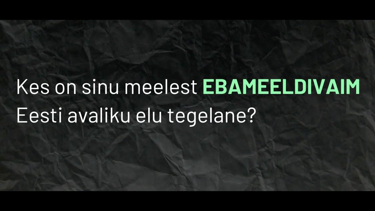 Kõige ebameeldivam Eesti avaliku elu tegelane?