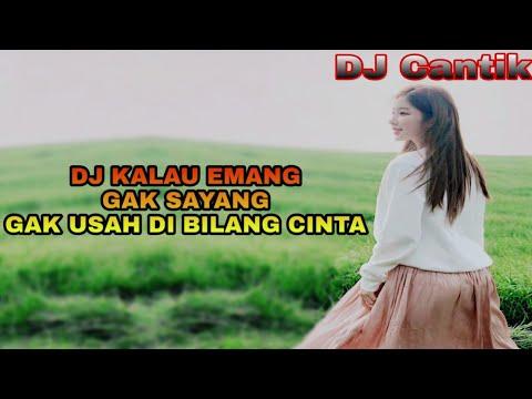 DJ SLOW KALAU MEMANG GAK SAYANG GAK USAH DI BILANG CINTA TIK TOK 2019 (Viral)