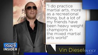 Vin Diesel Has Mad Mixed Martial Arts Skills