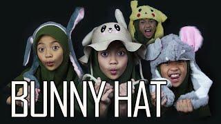 Bunny Hat | ear moving hat | topi kelinci | topi kpop | Bani Het Bunny Hat Dancing