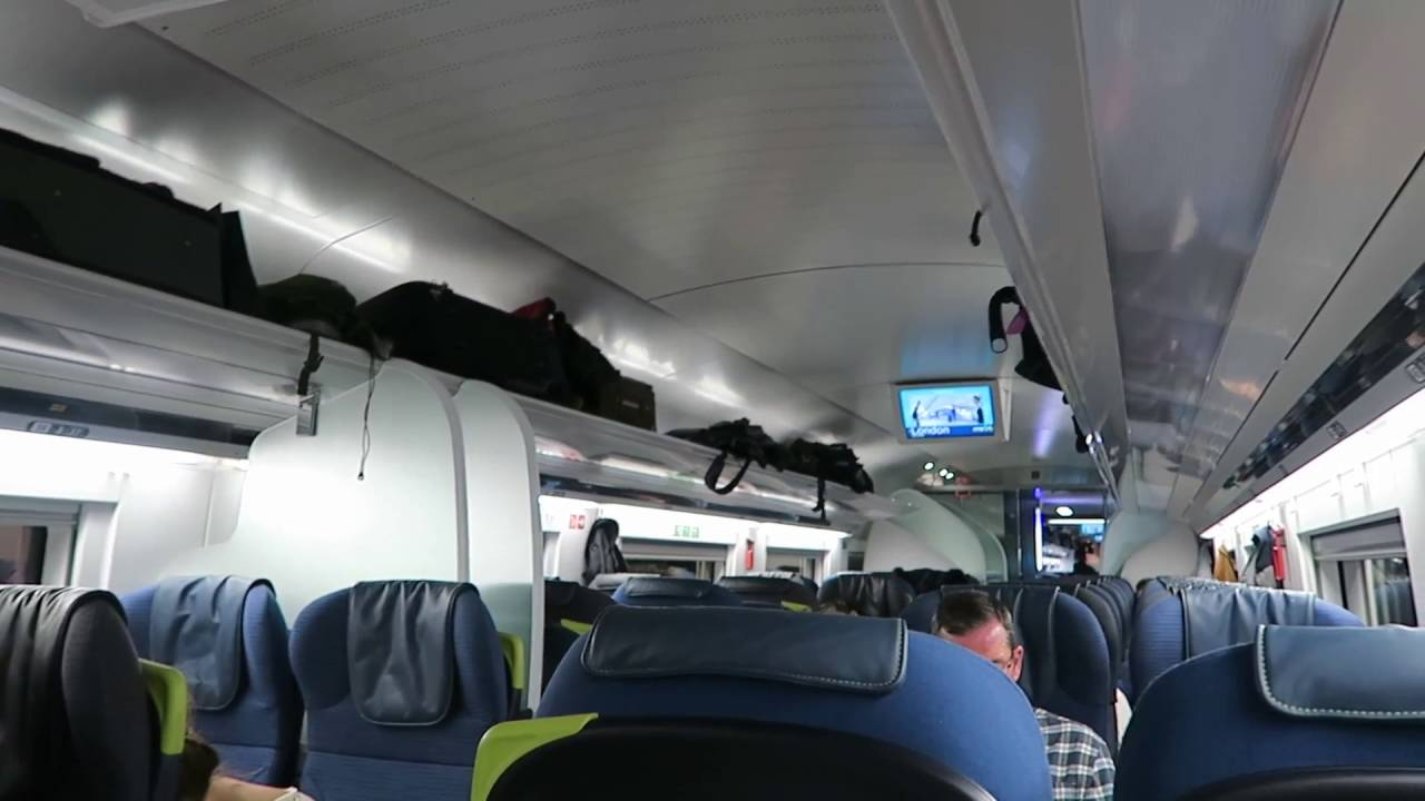 Inside a new eurostar class 374 train 18 october 2016 for Pictures inside