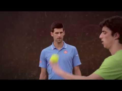 HEAD Frame & Play: Tennis artist baffles pro players