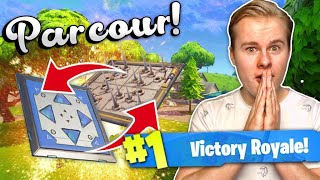 EEN MEGA GROOT PARCOUR MAKEN!! - Fortnite Battle Royale (Nederlands)