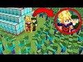 goku ajuda robin hood contra apocalipse de 1000 zumbis no minecraft