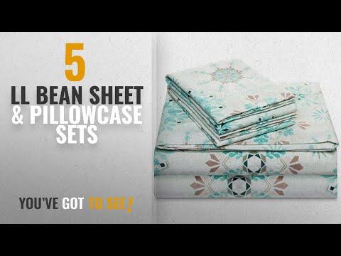 Top 10 Ll Bean Sheet & Pillowcase Sets [2018]: 100% Cotton Flannel Sheet Set - Extra Soft