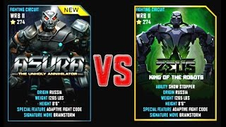 REAL STEEL WRB Final ASURA VS Zeus New Robots CHRISTMAS UPDATE