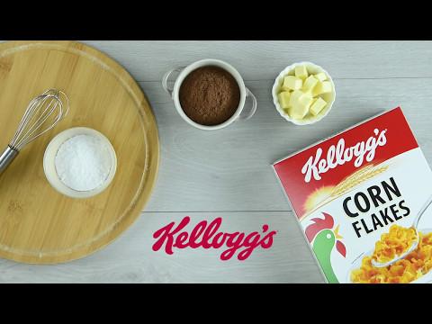 Kellogg's® Corn Flakes Chocolate Almond Thumbprint Cookies - Raya Recipe SG