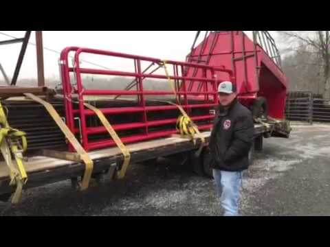 C&B Farm + Outdoors Cattle Equipment Delivery
