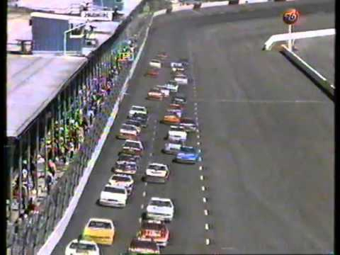 Darlington Raceway Nascar BGN Busch Grand National Race 1989