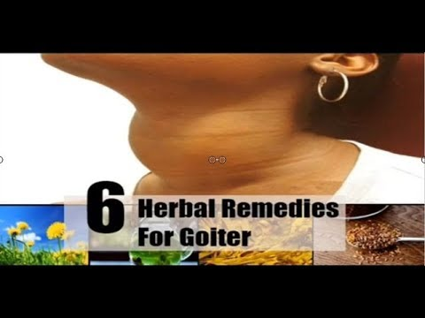 Health News: 6 Simple Herbal Remedies For Goiter