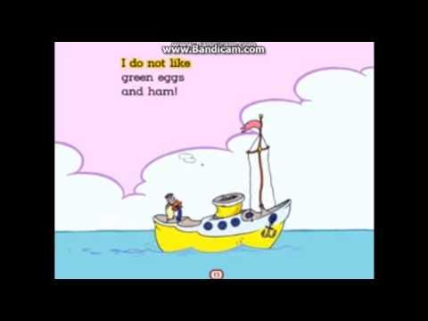 Green Eggs And Ham Living Books Train Crash Boat Youtube