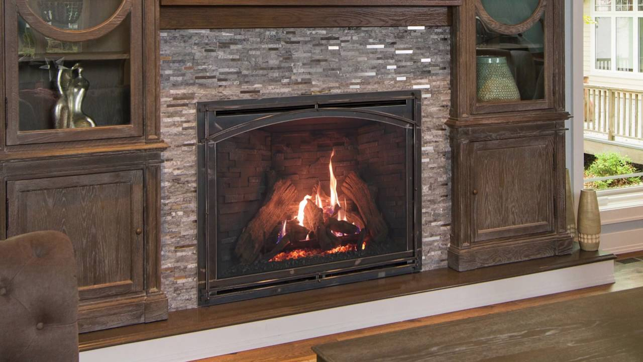Kozy Heat Fireplaces Carlton 46 Youtube