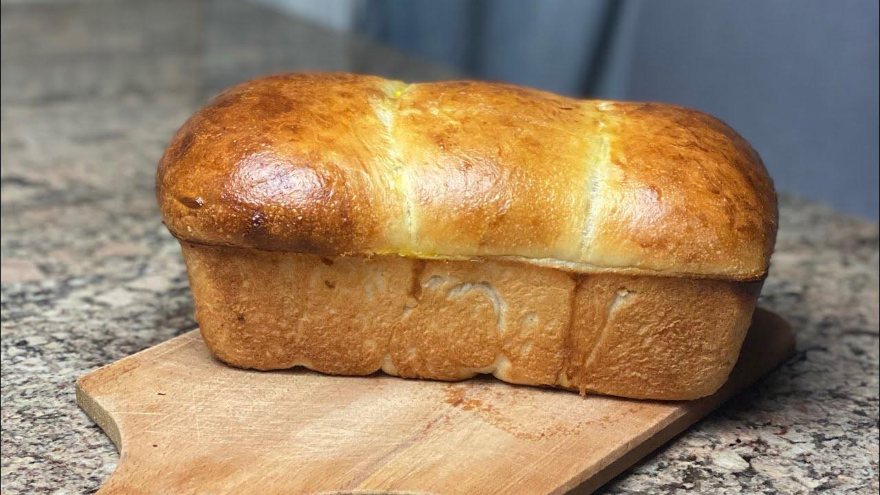 خبز البريوش بالحليب هشه ومثل القطن