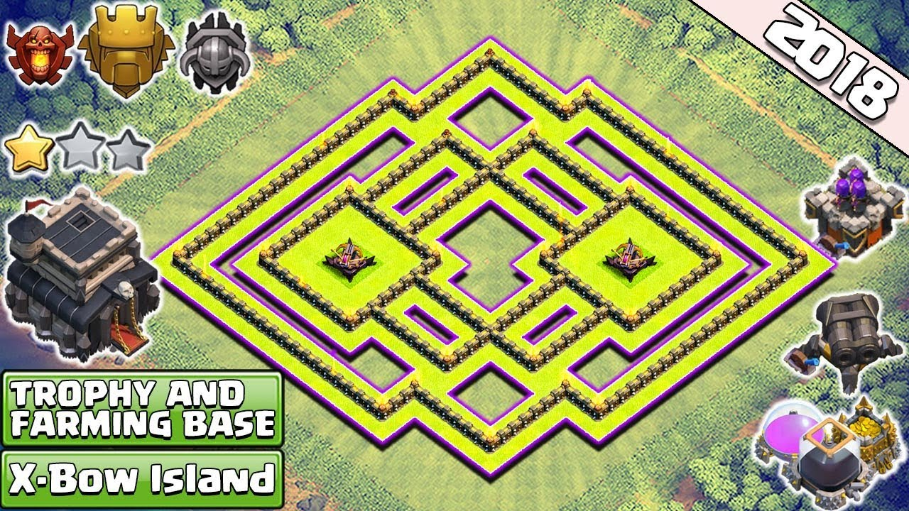 Base Farming Th 9 Anti 3 Star 2