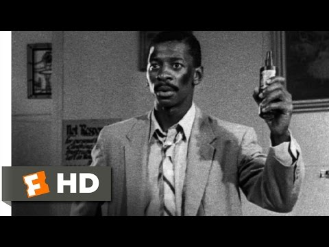Hollywood Shuffle (7/12) Movie CLIP - Ace Gets Jheri Curl to Talk (1987) HD