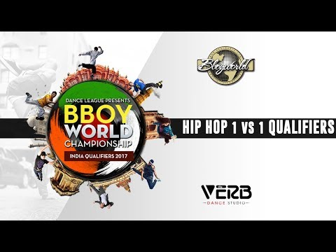 Hip Hop 1 vs 1 Qualifiers | Bboy World India 2017 | TheVerb Official