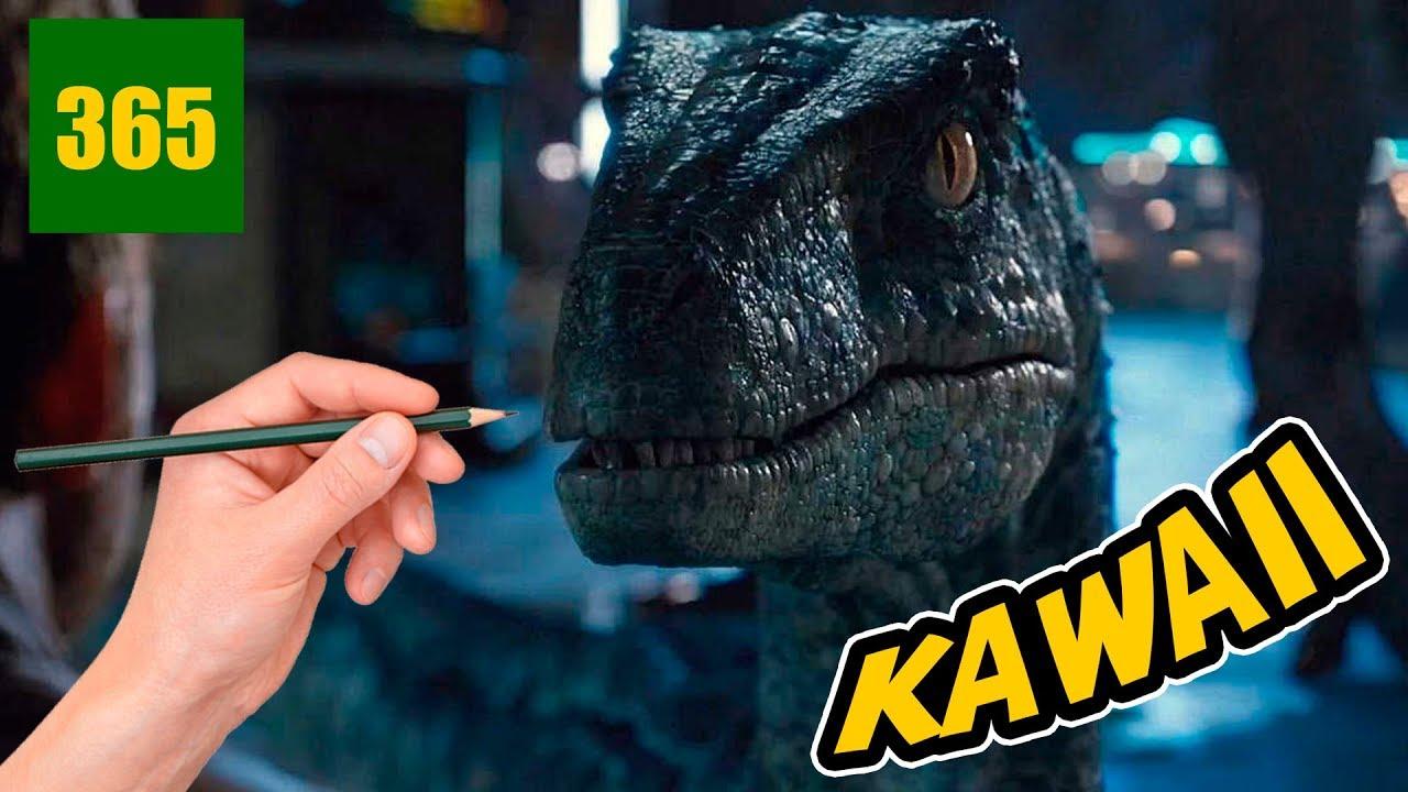 Comment Desssins Blue De Jurassic World 2 Style Kawaii