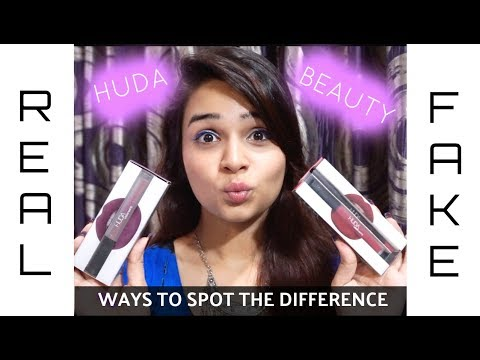 Huda Beauty Lipsticks Real Vs Fake Ways To Spot The Difference